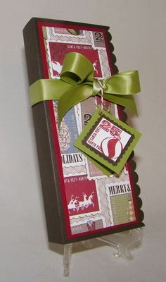 Neat gift box - Stampin' Up