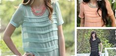 Anthropologie Inspired Chloe Pleated Top—Back by Popular Demand! Sheer Chiffon, Chiffon Tops, Sewing Clothes, Work Clothes, Blouse Patterns, Refashion, Diy Fashion, Sewing Ideas, Sewing Projects