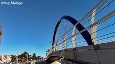Puente del Arroyo Jaboneros, que delimita la zona de Pedregalejo con la de El Palo.