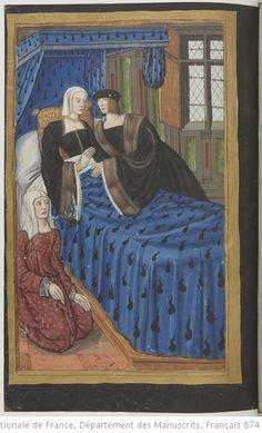 Medieval Manuscript, Medieval Art, Illuminated Manuscript, Medieval Fashion, Medieval Clothing, Greek And Roman Mythology, Medieval Costume, Book Of Hours, Edwardian Era
