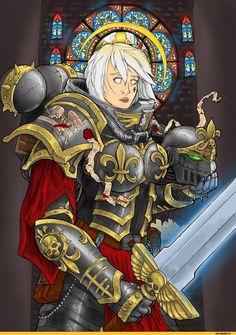 sister of battle / смешные картинки и другие приколы: комиксы, гиф анимация, видео, лучший интеллектуальный юмор.