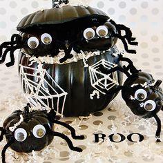 Spooky Spider Pumpki