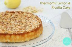 Thermomix Gluten-Free Lemon, Ricotta & Almond Cake - this is SO good! Gluten Free Cakes, Gluten Free Baking, Gluten Free Desserts, Gluten Free Recipes, Gf Recipes, Gnocchi Recipes, Recipies, Almond Recipes, Baking Recipes
