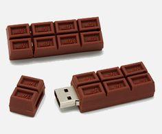 USB Flash Drive Chocolate Bar