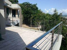 Barandas en SS para balcon. Guaynabo PR