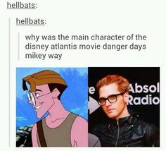 IS THAT WHY IVE ALWAYS HAD A CRUSH ON HIM???? BECAUSE HE LOOKED LIKE MIKEY WAY????