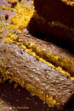 mousse chocolate e avela c praline - Teresa Pyrrait
