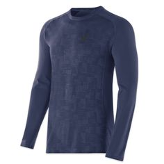 Asics Men's Long Sleeve Seamless Top - $59.99 CDN Keeping warm and being seen in just the right doses are exactly what our new long sleeveless top does best. Raglan sleeves offer enhanced freedom of movement and seamless construction eliminate chafing in this thermal layer top that was born to run.