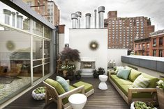 roof top terrace modern patio