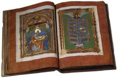 Page of Codex Aureus of Echternach by MINIATURIST, German in the Web Gallery of Art, a searchable image collection and database of European painting, sculpture and architecture Web Gallery Of Art, European Paintings, Image Collection, Renaissance, Gothic, Religion, German, Sculpture, Mai