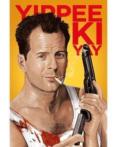 BROTHERTEDD.COM Die Hard, Series Movies, Random Stuff, Cinema, Retro, Celebrities, Artwork, Movie Posters, Instagram