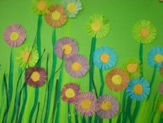 Risultati immagini per déco printemps ecole maternelle Spring Crafts For Kids, Kids Crafts, Art For Kids, Music Class, Art Plastique, Art Music, Images, Education, Dune