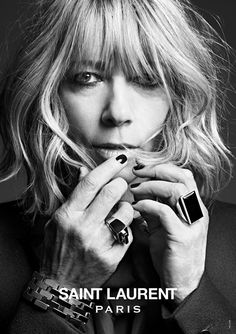 Kim Gordon, Sonic Youth - still edgy and cool as the Boys in the band | Saint Laurent