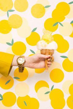 1 Lemon sorbet, please