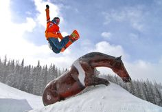 Bronco Fan Snowboarding at Winter Park Orange Friday Jan Go Broncos, Broncos Fans, Orange Friday, Colorado Snowboarding, Winter Park Resort, Colorado National Monument, Mount Everest, Skiing, Mountains