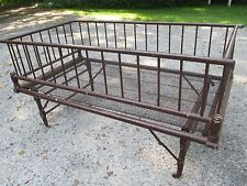Antique Baby Bed Cradle Crib Baby Fold down , Collapssible storage baby bed