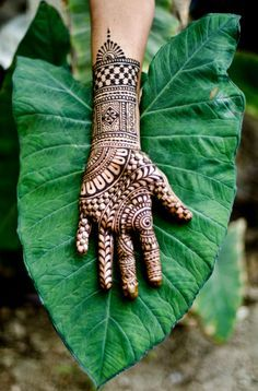 gorgeous hand mehendi design, henna