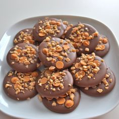 Yummy!!! Milk Chocolate, Toffee and Butterscotch Mediants: Sweet and Crunchy
