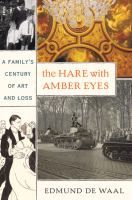 """The author looking into the history of his family through a collection of Japanese carvings he was left by a relative resonated with me as I look at even the smallest of old family treasures as a chapter I might miss. With this premise, De Waal searched into a dramatic family story of World War ll in such a meaningful way."""