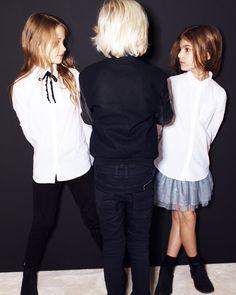 Laura y Dandara de Sugar Kids para Zara