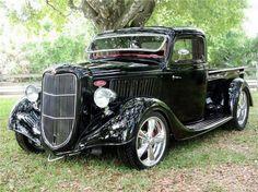 1936 Ford Half-Ton Custom Pick-Up - Barrett-Jackson Auction Company - World's Greatest Collector Car Auctions Hot Rod Trucks, Cool Trucks, Pickup Trucks, Cool Cars, Rc Trucks, Diesel Trucks, Dually Trucks, Lifted Trucks, Jeep Pickup