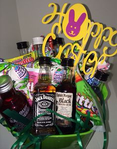 Baby shower participant gift or adult easter basket candy adult easter basket on etsy negle Images