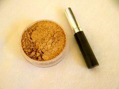 Organic Mascara and Organic Bronzer powder face by SquishyWorm, $14.00