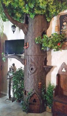 Please visit us at www.aHiddenHollow.com Super Large Cat Trees Large Cat Trees