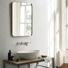 White Matt Square Pencil - Architecture - Wall & Floor Tiles | Fired Earth