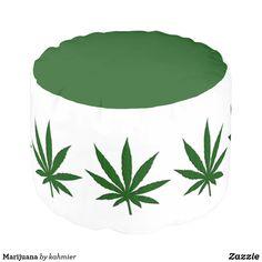 Marijuana Pouf #cann