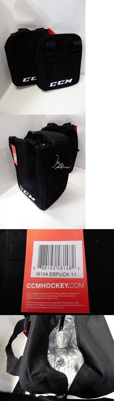 Other Winter Sports 1303: New Lot Of 2 Ccm Hockey Puck Bag M104 Ebpuck 11 11 X 8 X 13 -> BUY IT NOW ONLY: $39.99 on eBay!