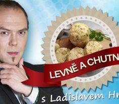 NOVÝ LÁĎŮV RECEPT: Výborné hrníčkové knedlíky Czech Recipes, Russian Recipes, Sushi, Nova, Muffin, Goodies, Bread, Baking, Breakfast