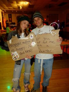 Halloween Costume - Homeless