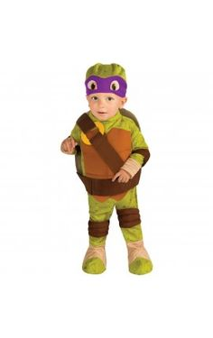 disfraz de donnie tortugas ninja para beb
