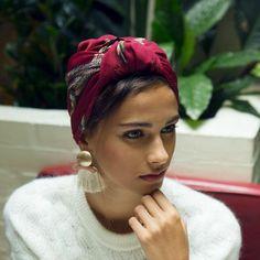 head scarf outfit & head scarf styles _ head scarf _ head scarf styles black women _ head scarf styles for natural hair _ head scarf tying _ head scarf outfit _ head scarf tutorial _ head scarf styles tutorials Mode Turban, Hair Turban, Turban Outfit, Bandana Outfit, Turban Hijab, Turban Headbands, Turban Style, Hair Accessories For Women, Vintage Hair Accessories