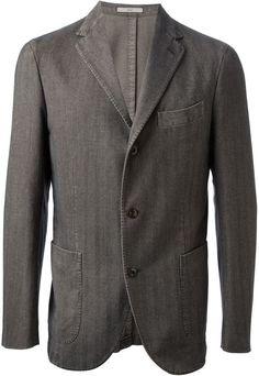 $688, Boglioli Striped Blazer. Sold by farfetch.com. Click for more info: https://lookastic.com/men/shop_items/144358/redirect