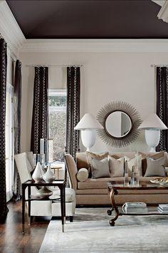Living Room. Elegant and inviting Living Room. #LivingRoom