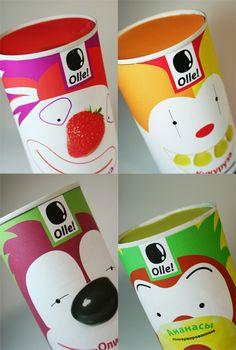 Olle! by Anna Shuvalova, via Behance
