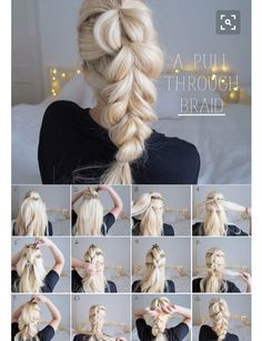 These easy hairstyles for work are beautiful. - These easy hairstyles for work are beautiful. These easy hairstyles for work are beautiful. Box Braids Hairstyles, Pretty Hairstyles, Wedding Hairstyles, Hairstyles 2018, Pixie Hairstyles, Hairstyle Ideas, Hairstyles With Extensions, Clip In Hair Extensions Styles, Style Hairstyle