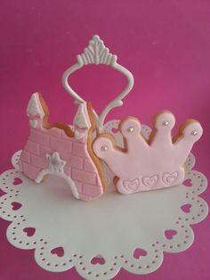 Galletas fondant #Princesas #reposteriacreativa