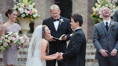 something funny brought big laughs during Kathleen & Glenn's Aristide Event Center Wedding » Dallas-Fort Worth Wedding Photographer