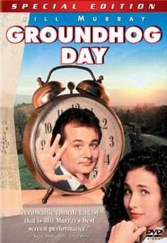 Sent to cover the annual appearance of world-famous groundhog Punxsutawney Phil, a self-centered TV weatherman unleashes his bitterness -- and soon realizes he's doomed to repeat Groundhog Day until he learns that his actions can affect the outcome.