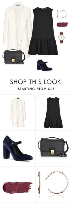 """LBD styling for office girls"" by yuri-writer on Polyvore featuring The Row, Miu Miu, Lands' End, 3.1 Phillip Lim, Emily Mortimer Jewellery and Daniel Wellington"
