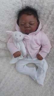 REBORN BABY GIRL PREEMIE ART DOLL REAL BABY KYRIN STEPHANIE ...