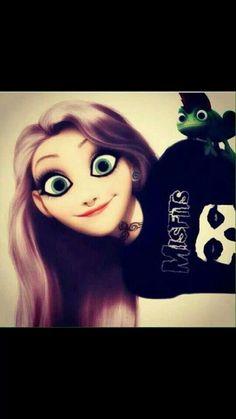 Même en punk elle est jolie !