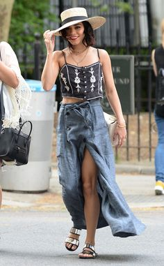 Top it Off: The Ultimate Guide to the Best Summer Hat Trends  Vanessa Hudgens, Street Style