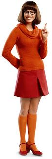 Velma: Got the wig, glasses, and probably the Mary Janes. Might be cute to do it hipster, with skinny jeans or capris, and slouchy off shoulder sweater