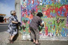 Graffiti Grandmas - LATA 65 is adding vibrancy, color, and life to some of Lisbon's more run-down neighborhoods.w