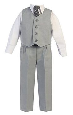 Looking for iGirldress Little Boys Vest Pants Special Occasion Easter Outfit Set ? Check out our picks for the iGirldress Little Boys Vest Pants Special Occasion Easter Outfit Set from the popular stores - all in one. Baby Boy Vest, Toddler Vest, Toddler Boys, Vest Outfits, Pants Outfit, Kid Outfits, Baby Suspenders, Boys Tuxedo, Light Grey Suits