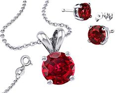 It's Sterling Silver 925 CZ 2.00 Carat Round Necklace with Pendantt and 18 Inch Rolo Chain Garnet Fantom http://www.amazon.com/dp/B015Q9O9OW/ref=cm_sw_r_pi_dp_0Q4bwb1NH6FQZ